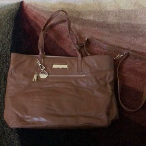 Butter leather DKNY bag